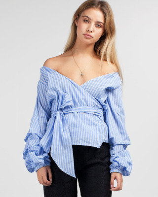 Unforgettable Wrap Top