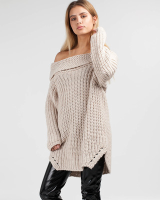 Saturday Love Chunky Knit Dress