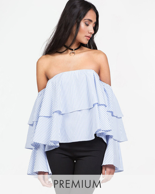 Million Dollar Girl Off Shoulder Top